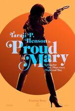 PROUD MARY MOVIE POSTER 1 Sided ORIGINAL Advance 27x40 TARAJI P. HENSON