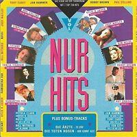 Nur Hits II (1989) Ärzte ('Zu spät', 6:25min.), Simply Red, Kim Wilde, Ky.. [CD]