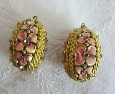 Costume Jewelry Necklace Vintage Fabrege Egg Style