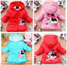 Baby Kids Toddlers Girls Cotton Winter Hoodies Coats Jackets Jumpers Top Outwear