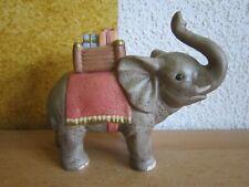 Goebel Nina & Marco Maxi Krippe grosser Elefant Porzellan Figur