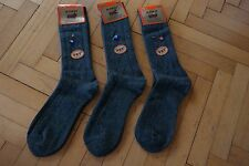 New Turkish %100 Merino Wool Men Socks Grey Colour-Warmly-1 Lot 3 Pairs