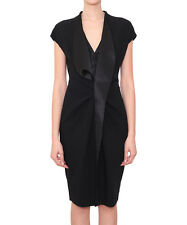 GIVENCHY WOMEN'S  DRESS WITH SATIN FRILLS  BNWT 100% AUTHENTIC!
