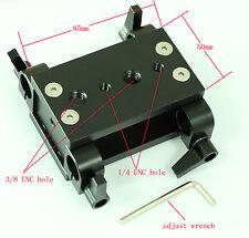 railblocks w/ Tripod Mounting Plate fr camera rail follow focus system tripod