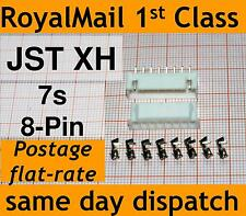 JST-XH connector plug (Male, Female, Crimps) Lipo 7s Balance Extension 8 PIN PCB