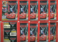 2011 PANINI CARS 2 10 Sealed Packets Disney Pixar
