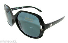 Authentic VERSACE Black Butterfly Sunglasses VE 4206 - GB1/87 *NEW*