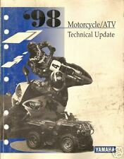 1998 Yamaha Motorcycle & Atv Update Service Manual