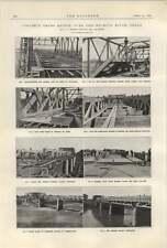 1922 New Type Of Concrete Truss Bridge Wichita Falls Texas 2 Photographs
