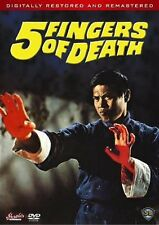 5 fingers of death* DVD NEW