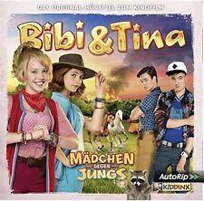 Bibi und Tina 3. Kinofilm - Mädchen Gegen Jungs Hörspiel zum Film - CD - NEU