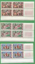 10 Sets of 1964 Dahomey Stamps 185-190 Cat Val. $35 Traditional Ceremony Dances
