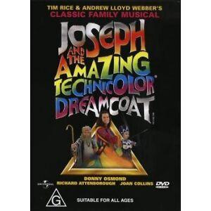 Joseph And The Amazing Technicolor Dreamcoat DVD - REGION 4 AUST PAL