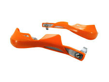 ORANGE Metal Hand Guards Handguards Fits KTM 300 EXC-E MXC USA 525 SX Racing