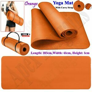 Gymnastics Exercise Yoga Mat for Pilates Gym Exercise 10mm Thick Comfortable New