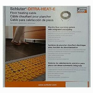 Schluter Ditra-Heat 120-Volt 10.7 Sq. ft. Heating Cable DHEHK12011. New In Box.