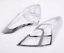 For NISSAN VERSA 2012-2017 Sedan Chrome Rear Tail Lights Lamp Trim Free Shipping