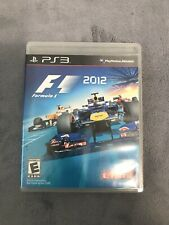 SONY PLAYSTATION 3 PS3 F1 FORMULA 1 2012 RACING