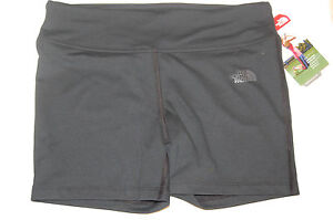 the north face womens pulse short tights mountain athletics black XL