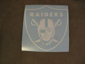 Raiders car decal