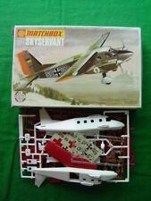 Aéronefs miniatures avions militaires Matchbox
