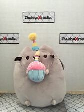 "Pusheen Happy Birthday Plush, 10.5"" x 5"" x 7"""