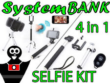 Selfie KIT 4in1 Monopode Trépied Obturateur à distanc pour IPHONE 5C 5S 5 6 PLUS