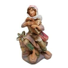 Fontanini Figurine Italy JOSIAH 173 Nativity Village Simonetti Boy Bagpipes