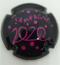 Capsule de champagne Générique champagne 2020 rosé janvier 2021