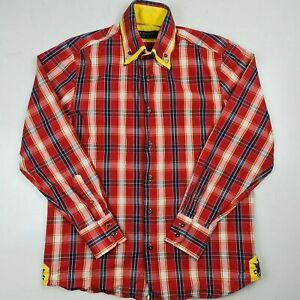 COOGI Luxe Men's M Long Sleeve Button Down Shirt Cotton -SL28