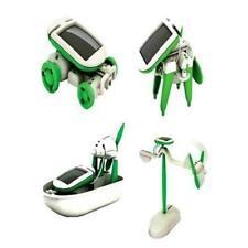 6in1 Educational Learning Power Solar Robot Kit For Child Kid Toy Creative Gift