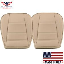 1999-2004 Ford Mustang V6 Driver and Passenger Bottom Vinyl Seat Cover Tan