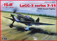 ICM 48093 WWII Soviet Fighter LaGG-3 Series 7-11 in 1:48