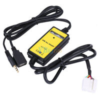 S2000 Car USB Aux-In Adapter MP3 Player Cable Radio Audio for Honda Accord CRV