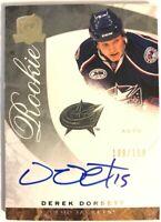 2008-09 Upper Deck The Cup Autograph Rookie Card Derek Dorsett RC /199 #63