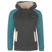 LA Gear Full Zip Faux Fur Lined Hoody Hooded Jacket Size 14 BNWT £59.98 Charcoal