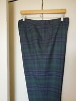 Talbots Fully Lined Wool Pants NWT size 16 W
