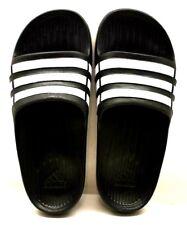 c43049ec9ca7 Adidas Duramo Slide Black   White US Size 3 - FREE SHIPPING - BRAND NEW