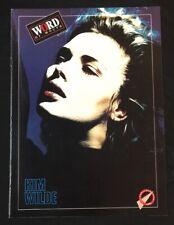 1988 Aug Singapore Word of Mouth music magazine Kim Wilde Chicago Eddie Murphy