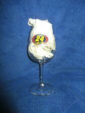 #24 Jeff Gordon Wine Glass- NASCAR