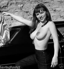 1970s Michelle Angelo Topless large breasts Pinup  8  x  10  Photograph