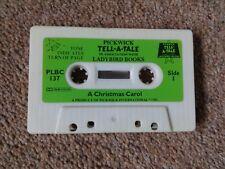 Pickwick Tell-a-Tale Ladybird Audio Cassette / tape book A Christmas Carol