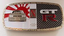 NISSAN SKYLINE GTR a GRILL BADGE EMBLEMA badge SKYLINE R32 GTS R34 S14 350Z inserzione senza scadenza