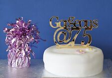 Birthday cake Celebration topper, Personalised Gold Mirror acrylic 18th,21st etc