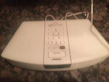 BOSE WAVE RADIO AM/FM Alarm Clock Model AWR1-1W No Remote Works Great!