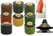 1 38 Core Bit Polishing Drum 8 Piece 316 Bevel Bull Nose Router Bit Stone