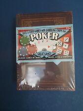 Poker Set Dice & Card & Chips - Brand new still in original unopened packaging