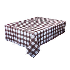 Waterproof Plastic Tablecovers Table Cloth Cover Party Catering Events Tableware