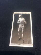 Johnny Curley 12  1928 Ogdens Boxing Cigarette card Boxer Pugilists in action