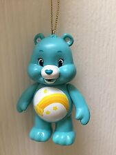 "Wish Blue Bear Care Bear 3"" PVC Holiday Christmas Tree Ornament Action Figurine"
